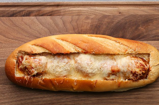 This Meatball Bread Boat Will Take You On A Cheesy Adventure
