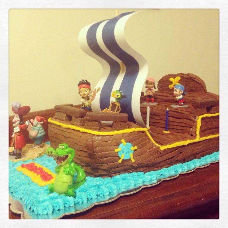 Jake And The Neverland Pirates Birthday Cake Tesco
