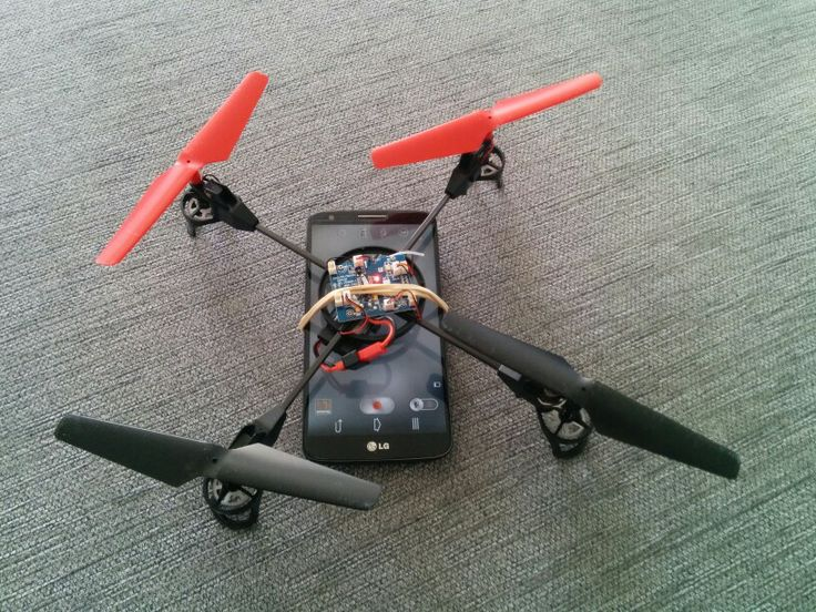 The LG G2 drone takes to the skies.