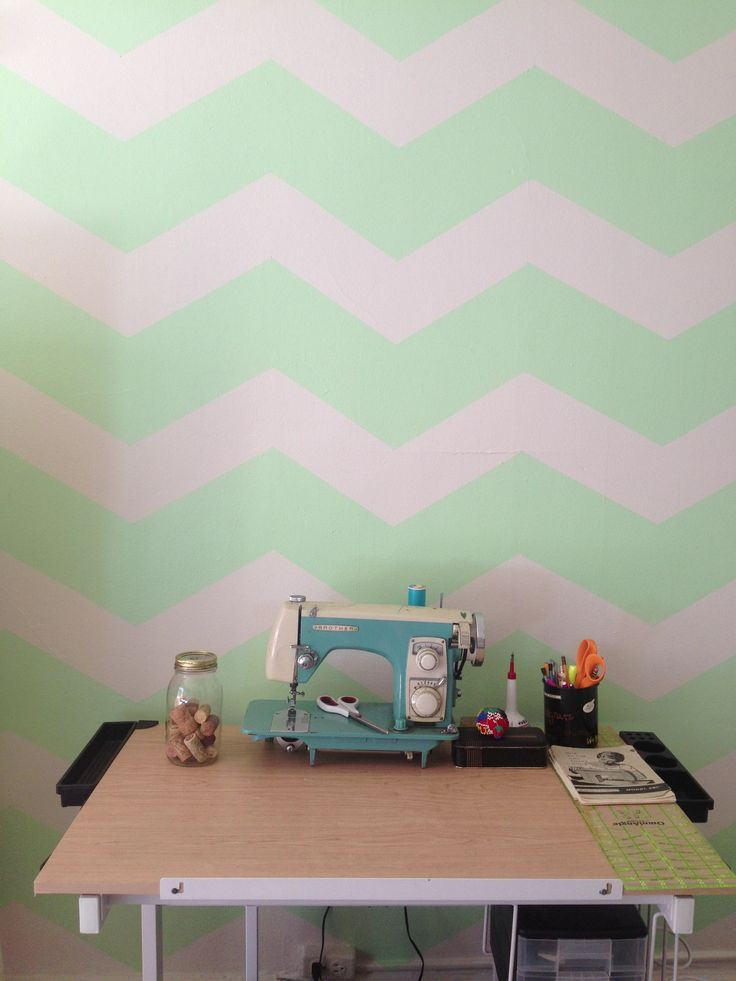 Mint Green Walls New Of Mint Green Chevron Wall Pictures