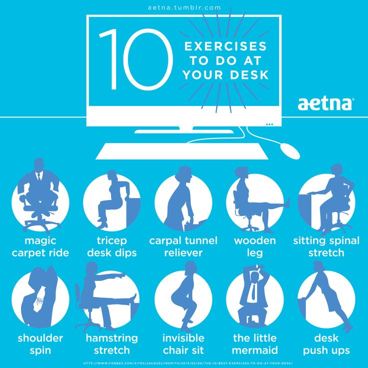 Next Time You Re Sitting At Your Desk Stretch It Out Either During