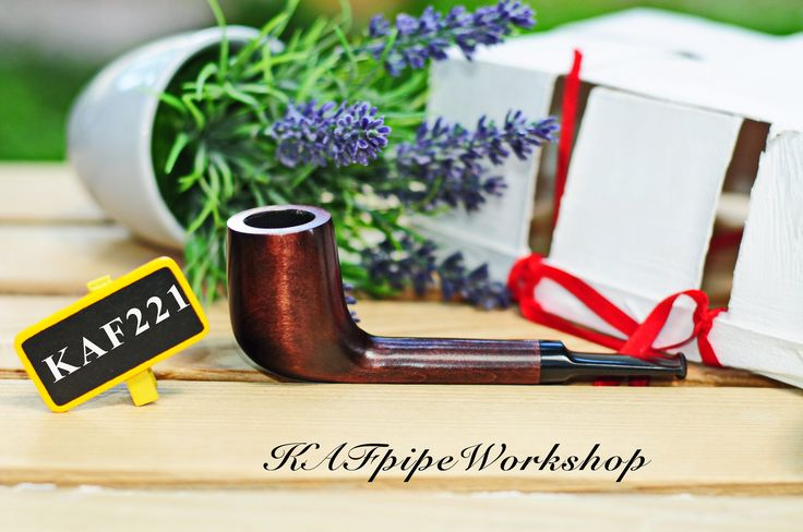 Smoking pipe Canadian /Tobacco pipe KAF221/Pipe for smoking/Wooden smoking pipe/Tabakpfeife/Pipa/Pear wood handcrafted pipe/Gift for groom by KAFpipeWorkshop on Etsy