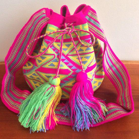 Large Wayuu Mochila Bag