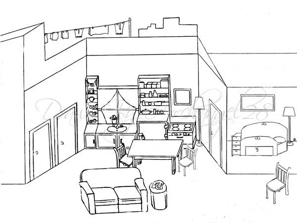 A raisin in the sun house layout