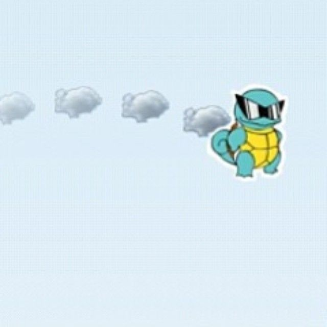 Flying Squirtle made with the Flying Avatar game! You can make any character and play it in the Flying Avatar game. Make your own Flappy Bird game. Use your imagination and make any character!  www.flyingavatar.com  #flyingavatar #flappybird #apps #flappybird #freegame #iosgames #appstore #iphoneapp #iphonegame #apptation