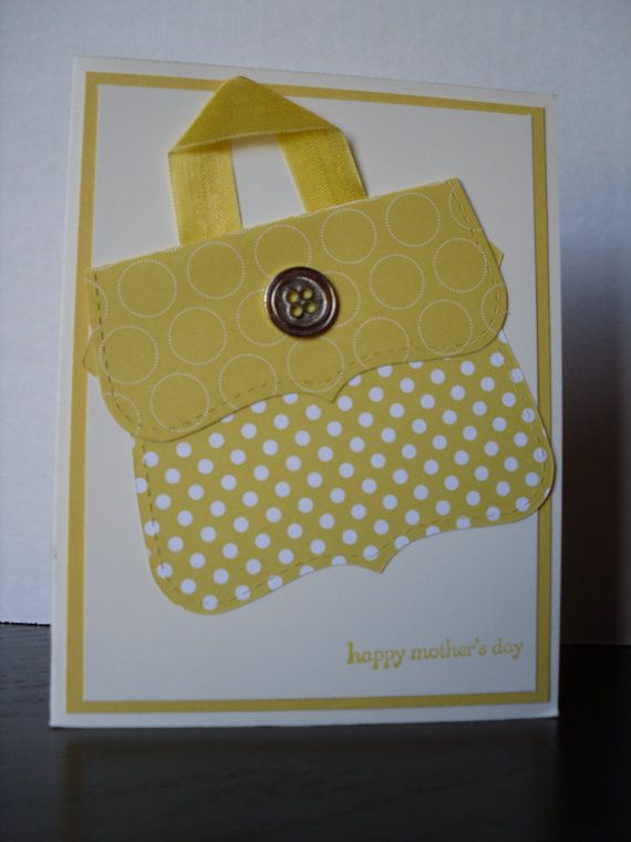 Handmade Stampin Up Mother's Day Card by SillyDawgDesigns on Etsy, $3.00