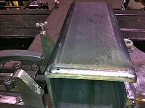 Our robotic welds are perfect every time