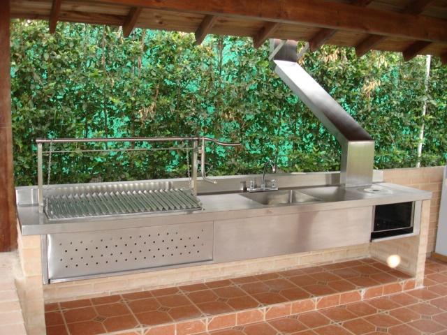 17 best images about asado grills on pinterest wood for Asadores de jardin