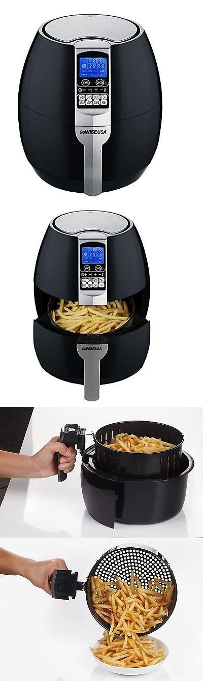 Deep Fryers 20674: Gowise Usa Gw22611 Gowise Usa 8-In-1 Electric Air Fryer With Digital Cooking 3.7 -> BUY IT NOW ONLY: $69.32 on eBay!
