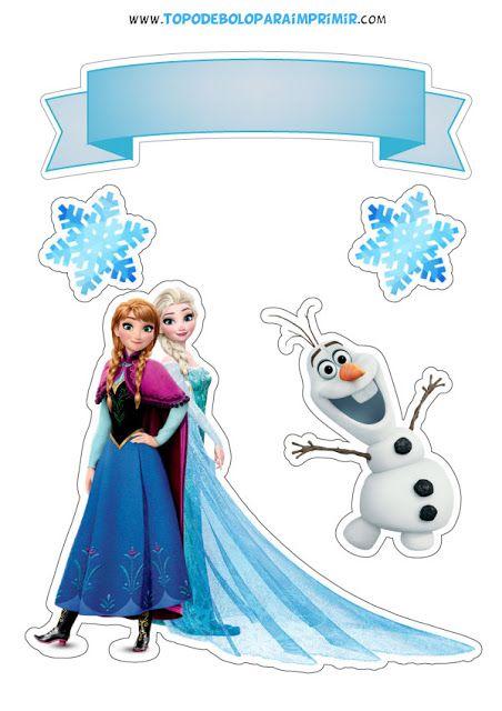 Topo De Bolo Frozen Bolo Frozen Festa De Anivers 225 Rio Da