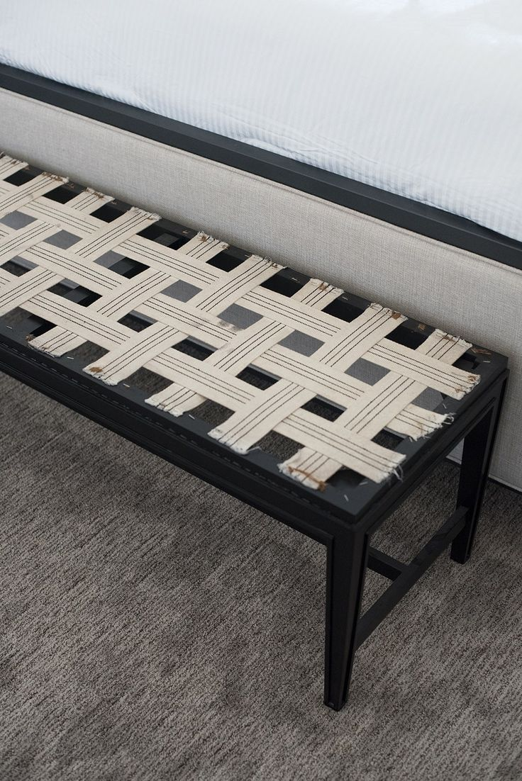 How To Upholster A Bench With A Back