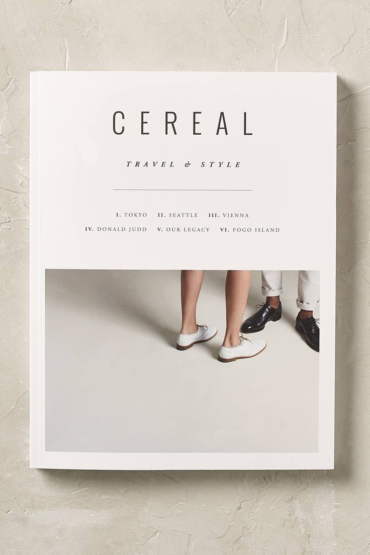 Cereal magazine always has the best magazine covers. Love this!                                                                                                                                                                                 More