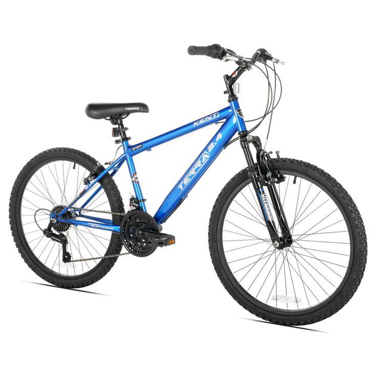 Kent Terra 2.4 - 24 Boys' Mountain Bike 21 Speed - Royal Blue