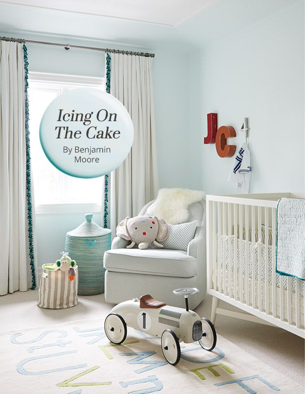 The paint color: Even though it's a pastel blue, Icing On The Cake (Benjamin Moore 2049-70) has a warm undertone that keeps it from reading as too frosty. Why we love it: Pale and ethereal, this soft hue is sweet in a nursery, but not too saccharine. How to use it: This color can grow …