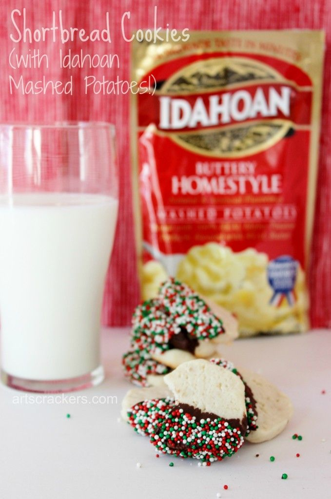 Shortbread Cookies Idahoan Mashed Potatoes Recipe