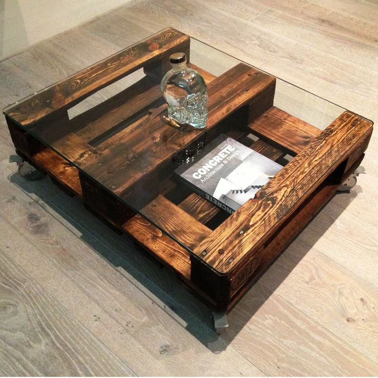 Best Mesas D Pallets Coffee Table Pallets Images On Pinterest