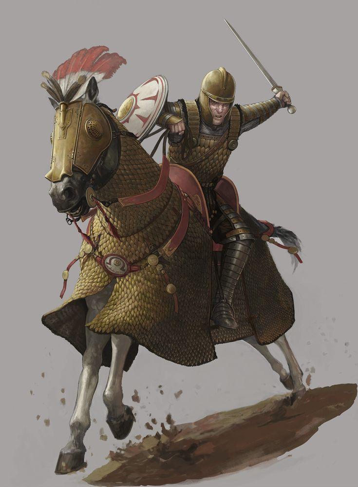 Artstation - Eastern Roman Heavy Cavalry