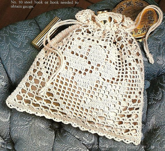 Victorian Rose by BeadedBundles, filet crochet (pattern only) $2.95