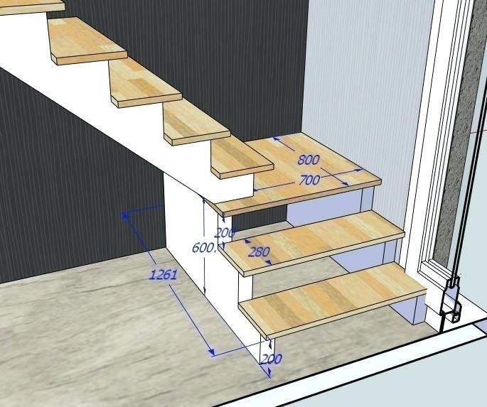 Litteraire Escalier Avec Palier Calcul Escalier Demi Tournant Avec