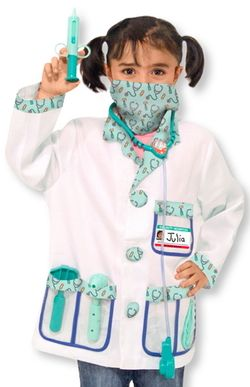 Melissa & Doug Doctor Role Play Costume Set $29.99 - from Well.ca