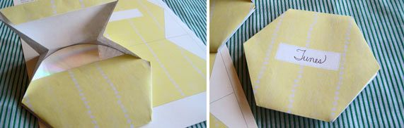 CD paper envelope