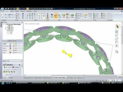 3D Jewelry Claim demo - YouTube