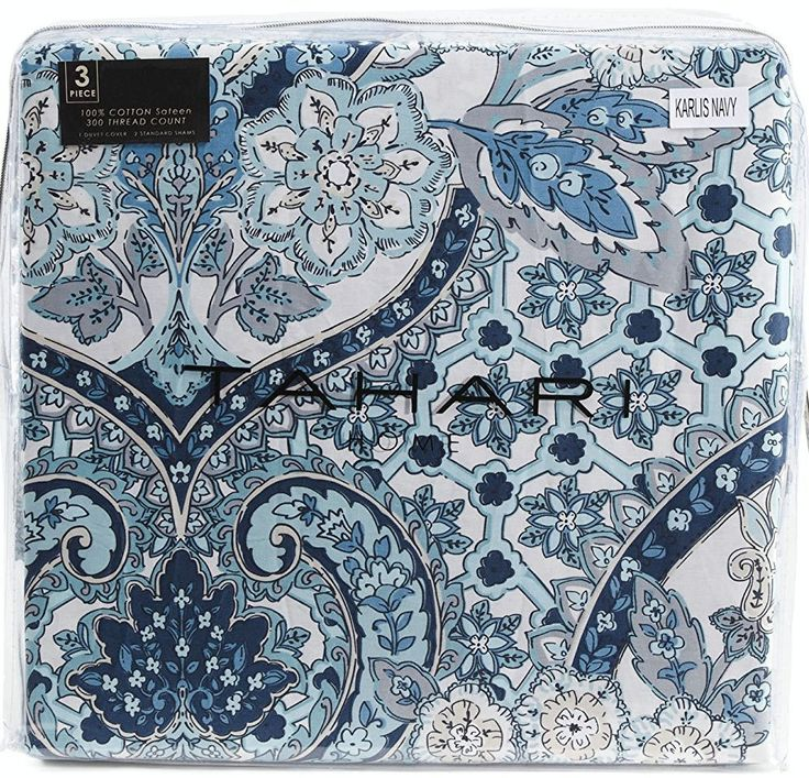 Tahari Home 3pc Duvet Cover Set Paisley Medallion Silver: 17 Best Images About Bedding On Pinterest