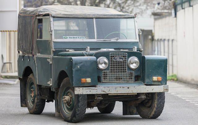 Land Rover série I pickup 1952