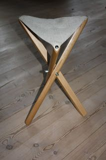 The day before yesterday, I started a Roubo style campaign folding stool in elm and canvas, and that is one of the quickest projects that I ...