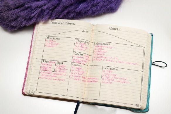 Schoonmaak schema - wekelijks