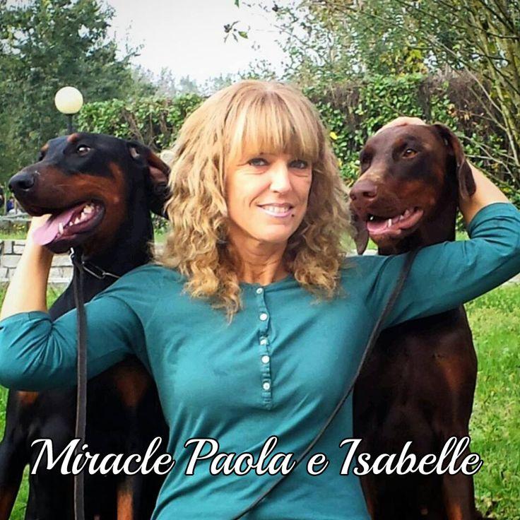 Questo grazioso trio è composto da Miracle Paola e Isabelle per #MyDogAndMe