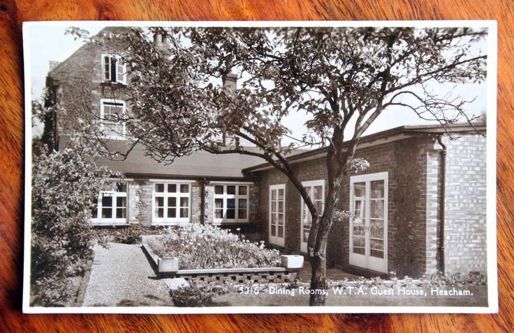 UNUSED PHOTO POSTCARD RP NORFOLK HEACHAM W.T.A. GUEST HOUSE DINING ROOMS | eBay
