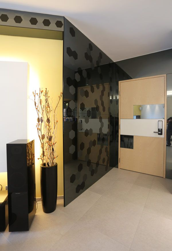 Apartment Design Interior Designer Salary Glass Walls Orange Light With Dark Whie Roof Top Modern Sal