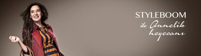 Styleboom ile Annelik Heyecanı Markafoni'de 6,99 TL'den başlayan fiyatlarla! http://www.markafoni.com/product/styleboom-ile-annelik-heyecan-0/all/