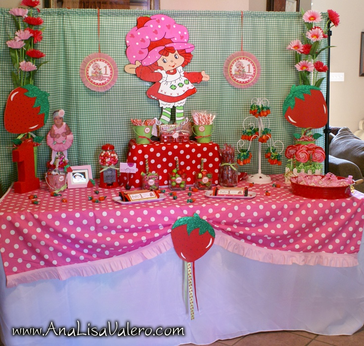 Strawberry Shortcake! Love it!