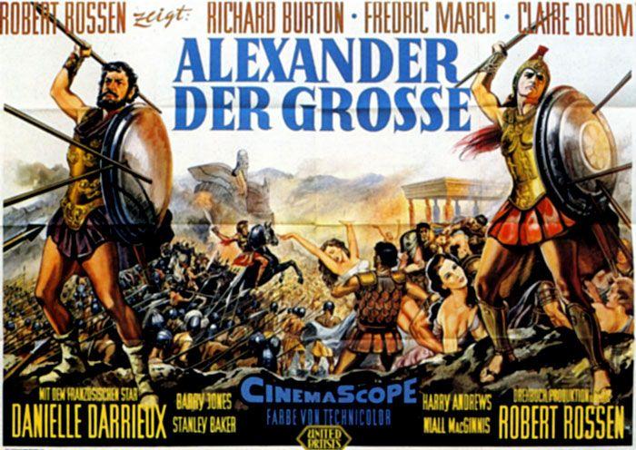 Paramount Pictures Movie Posters 1956 | Filmplakat: Alexander der Große (1956)