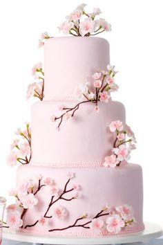 Cherry Blossom Wedding Cake   Le « Cherry Blossom Cake » { Le design du mois}   La Lettre ...