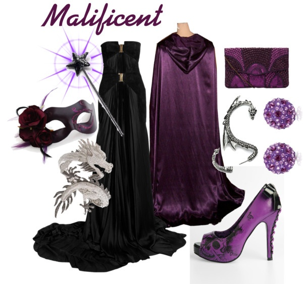 """Masquerade as Malificent"" by pam-kyle-mcglaughlin on Polyvore"