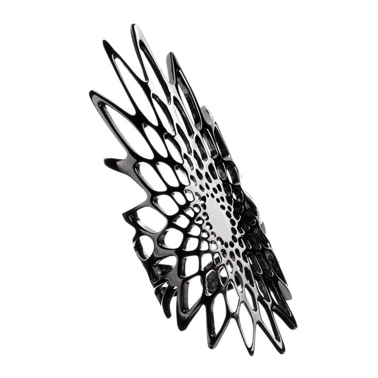 Silene jewellery by Zaha Hadid for Lebanese jewellery house