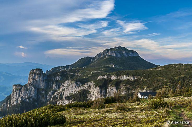 Varful Toaca din Ceahlau Toaca peak