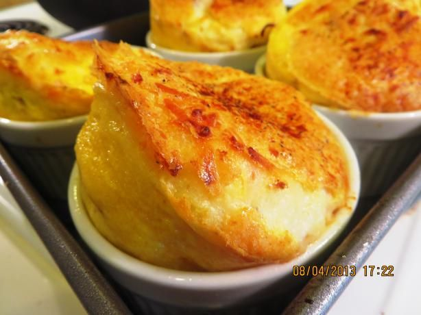 No Brainer Cheese and Egg Souffle.