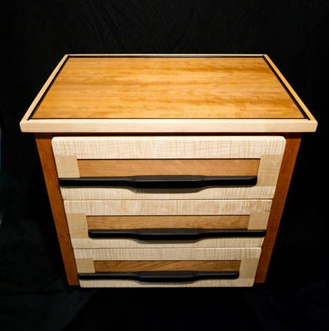 crafted wood furniture by Barry Middleton