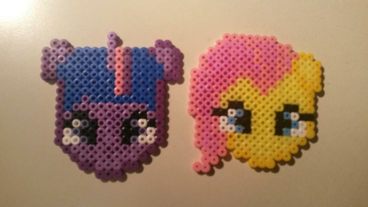 My little ponies <3 Twilight and Fluttershy