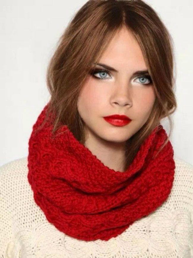 Lo más sexy en labios rojos