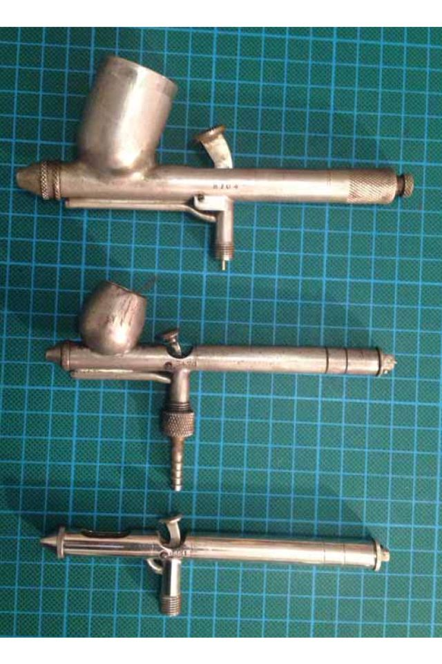 Vintage airbrushes from Colour Sprays London Ltd
