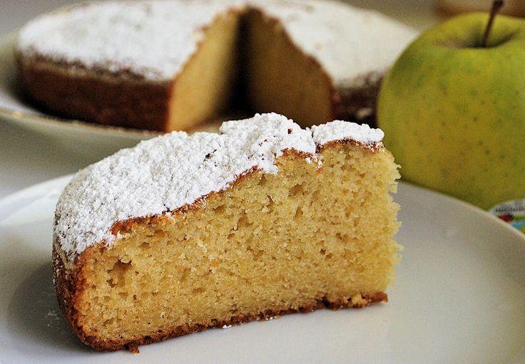 Torta alle mele invisibili o Torta invisibile ricetta senza latticini