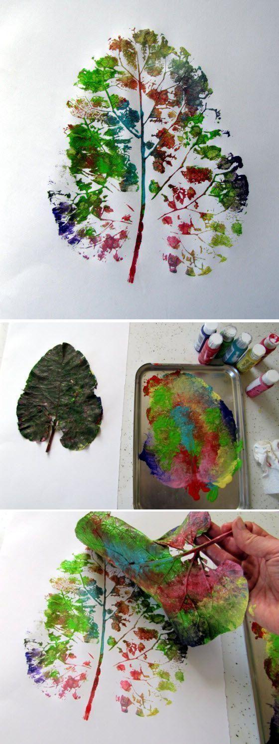 Herbstblätter – kreative Deko- und Bastel-Ideen – Sandy Scholz