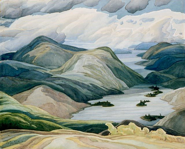 Grace Lake - Franklin Carmichael