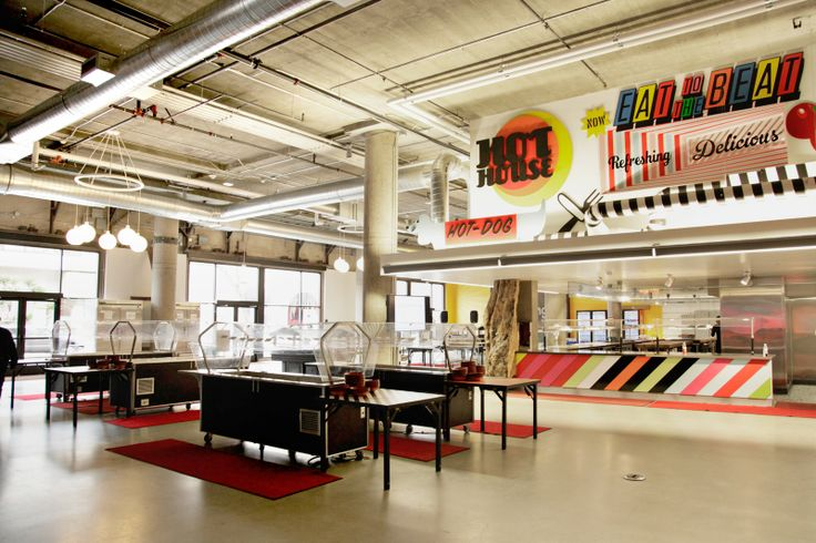101 best office canteen images on pinterest office for Zynga office design