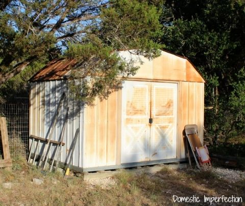 best 25 metal shed ideas on pinterest shed ideas. Black Bedroom Furniture Sets. Home Design Ideas